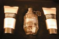 Coffret flacon de parfum personnalise d une gravure