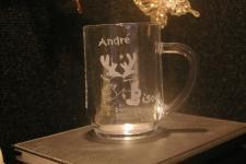 Mug personnalise par la gravure pour un cadeau de noel unique